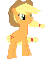 Applejack - Quiet and Observe by CawinEMD