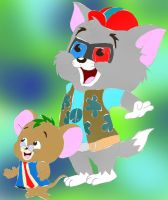 Tom and Jerry's Random Attires 4 of 13 by ThrillingRaccoon