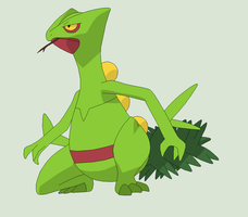 Pokemon Base 79~Sceptile 1~ by Xbox-DS-Gameboy