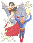 Superman and Wonder Woman By Adam Hughes by lizij