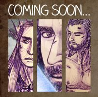 Thorin Oakenshield comic - PREVIEW by lilis-gallery