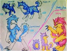 Fakemon: Freezup + Evolutions by xXCystalTheWolfXx