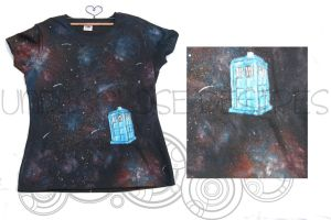Doctor Who - Lost in Space Tardis v2 - T-shirt by Undisclose--Desires