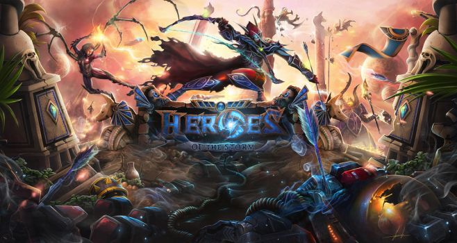 Heroes Of The Storm by Zhanac