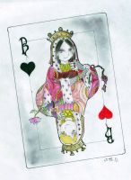 Queen of Hearts by Felolira
