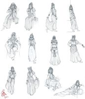 Cleopatra Character Design by iancjw