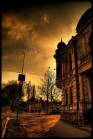 stop at red light by odainiq