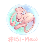 151 - Mew by oddsocket