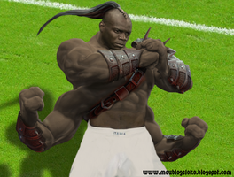 Balotelli Mortal Kombat by junnioor