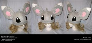 Minccino hat by Neon-Juma