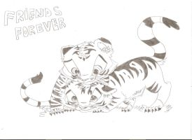 Tigres-Friends Forever by Runnie-the-cheetah