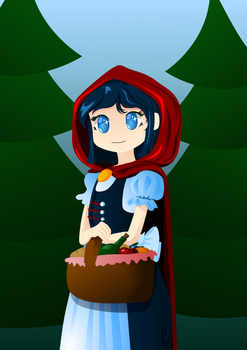 Little Red Riding Hood by KM-Chai