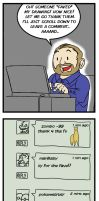 Deviantart: Thankless by remnantcomic