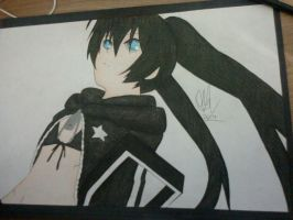 Black Rock Shooter by MiioChann