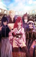 Fairy Tail Collab - DEOHVI Army by EspadaZero