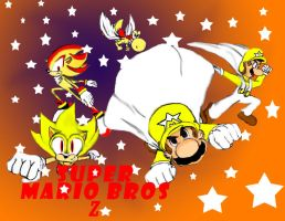 Super Mario Bros Z Super Stars by SuperSabien