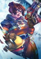 Overwatch: Rescue Mei by MaR-93
