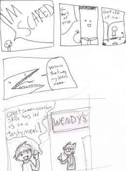 A page of comics for you by Fyzel