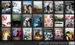 Movie Icon Pack 166 by FirstLine1