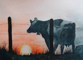 Cow by christinaks