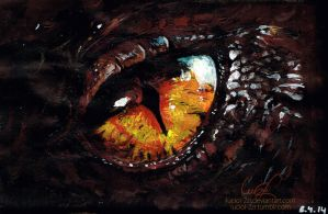 The Hobbit - Smaug by LucioL-2zR