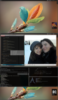 Archlinux with KDE by printesoi