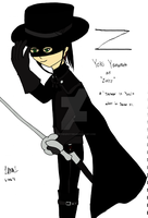 Yoki as Zorro by yumithespotter