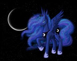 Princess Luna by cathykitcat