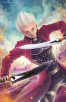 Archer Fate/stay Night by FalseDelusion