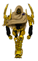 Mata Nui The Exiled God by drago-flame