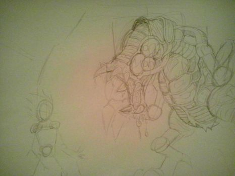 croquis omega metroid by nightmarluffy