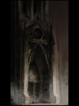 Gothic entrance by pawlack