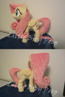my little pony Fluttershy plush (for sale) by Little-Broy-Peep