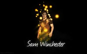 Sam Winchester - Wallpaper by me969