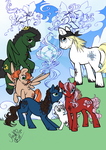 My Little Pony meets Final Fantasy XIII by SoraNoRyu