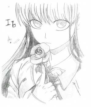 Ib - Red Rose by IceboyKun