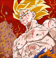 Son Goku's Choice by SSJCyberSonic