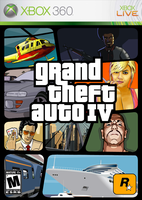 GTA IV Box Art: Xbox 360 by SlimTrashman