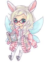 Chibi Fairy Girl :o Gaia Commish 02 by ayec