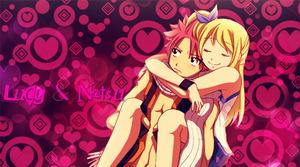 Lucy and Natsu by alyn2rikla