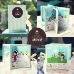 2012 Pop-up Calendar by dolosan