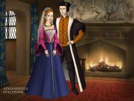 Elizabeth of York and Henry VII of England, 2 by TFfan234