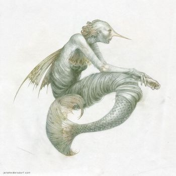 Mermaid by Checanty