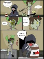 SmokerXHunterX...Nutella by Keru-rawrr
