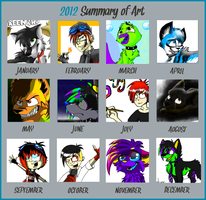 2012 Summary of Art by Flame-Expression