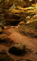 Hocking Hills XVIII by LadyRStock