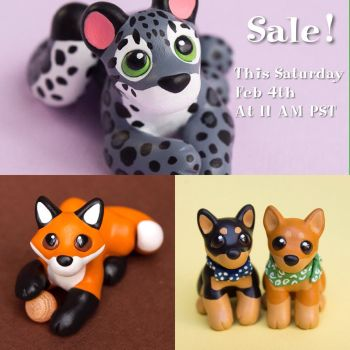 Mini Pups Etsy Sale! by SculptedPups