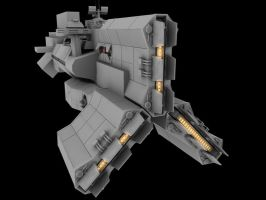 Destroyer WIP by Stormfactor