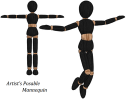 MMD- Artist's Mannequin -DL by MMDFakewings18