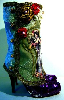 Victorian Lady Art Spats by MAIDESTREASURIES
